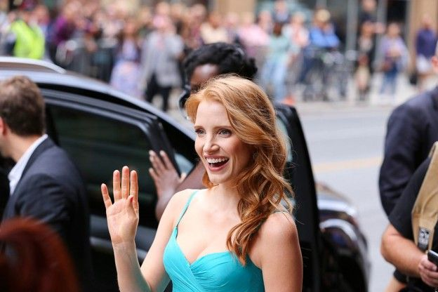 Jessica Chastain at The Disappearance Of Eleanor Rigby: Him And Her #tiff13