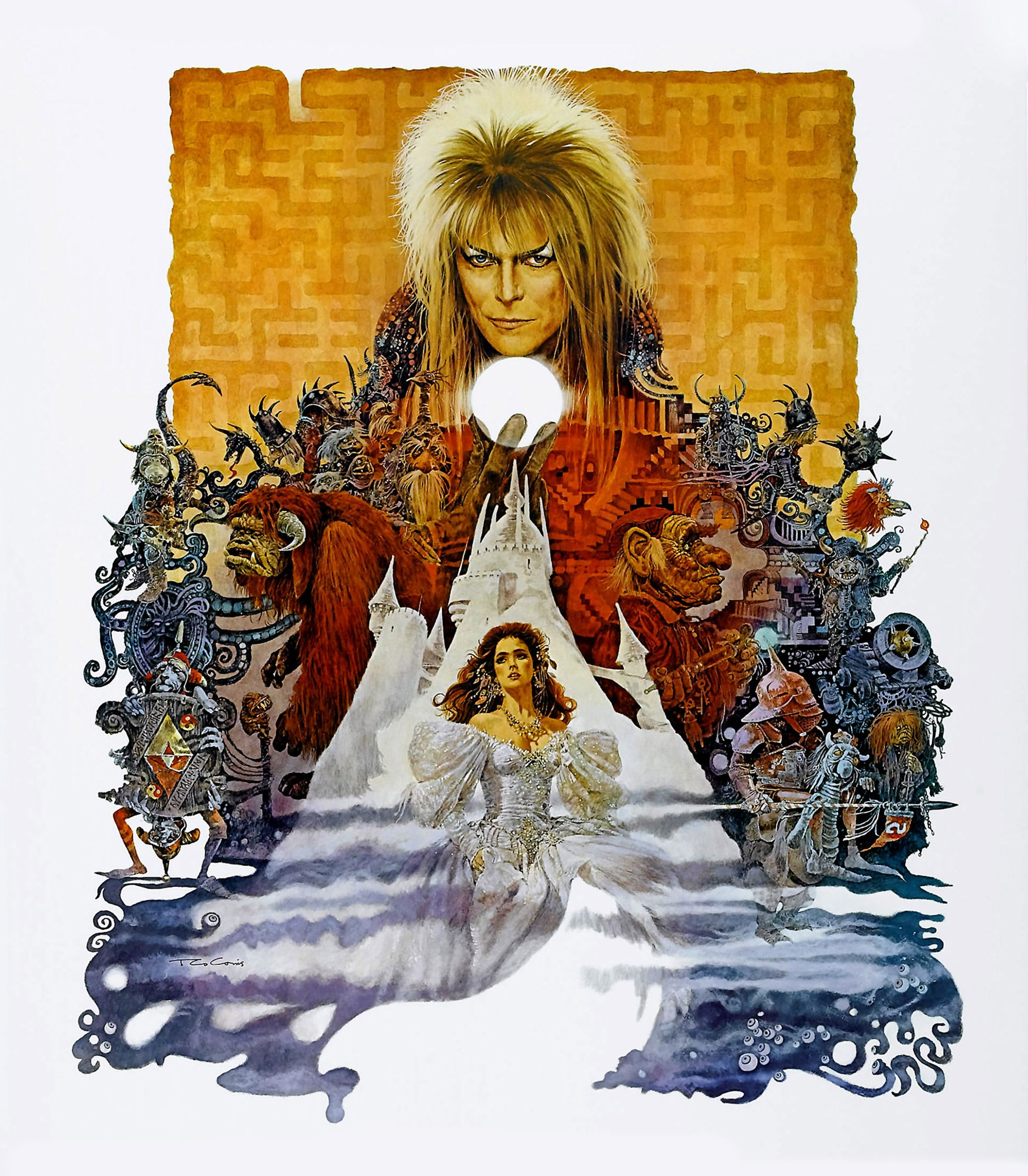 Labyrinth In 2018 Im A Fan Pinterest Movie Movies Short Circuit 27x40 Poster 1986 Imgur Goblin King Best Posters