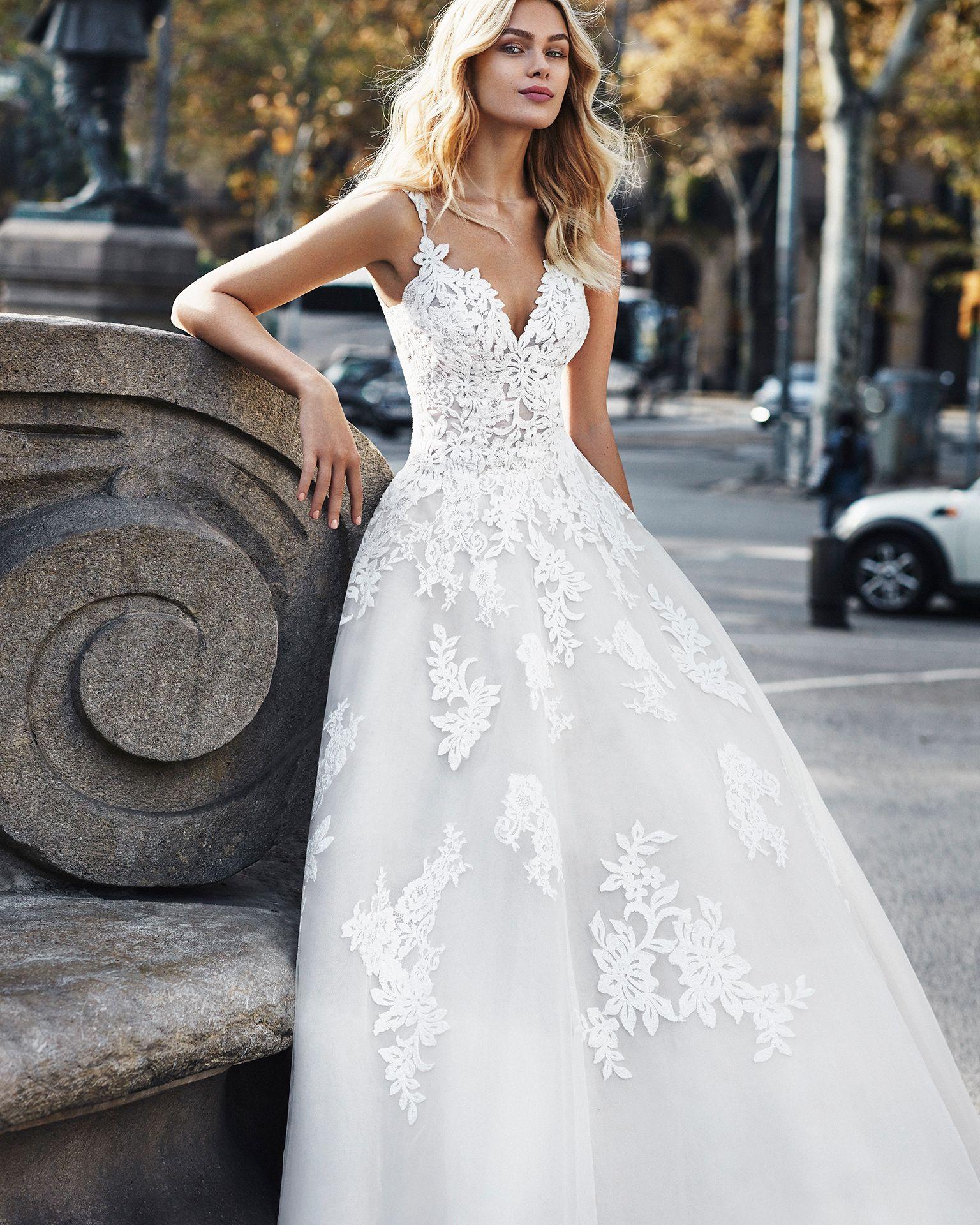 626aca69b Vestido de Novia de LUNA NOVIAS Colección 2019