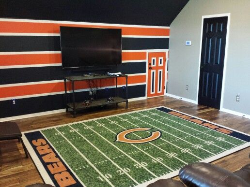Chicago Bears Man Cave Our Man Cave Man Cave Home Bar
