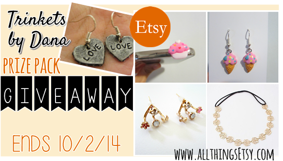 allthingsEtsy: Trinkets by Dana Etsy Shop Giveaway! Enter