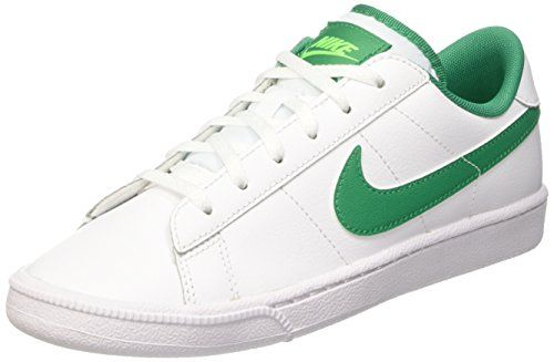 Nike Youths Tennis Classic White Green Leather Trainers 40 Eu You Can Get Additional Details At The Retro Nike Shoes Boys Tennis Shoes Womens Shoes Wedges