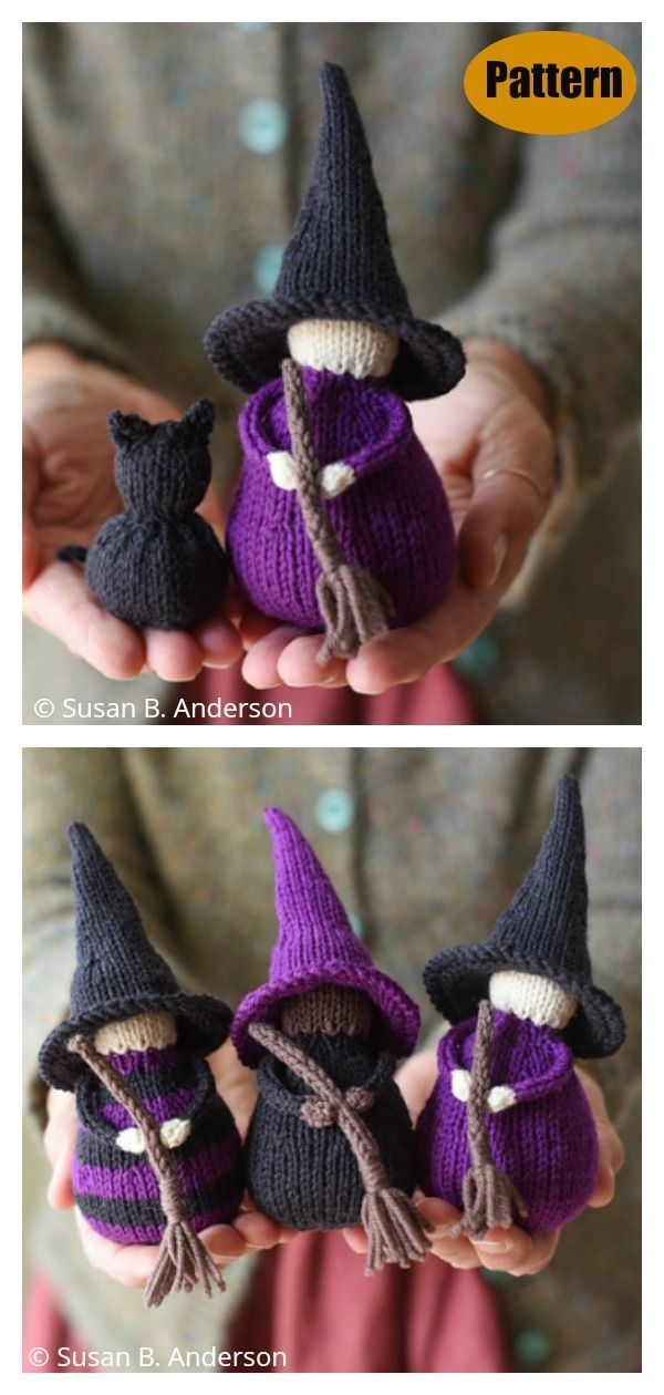 Little Witch Charm Set Knitting Pattern Amigurumi animal models can find many different kinds of animals some of them amigurumi rabbit amigurumi monkey amigurimi bear ami...