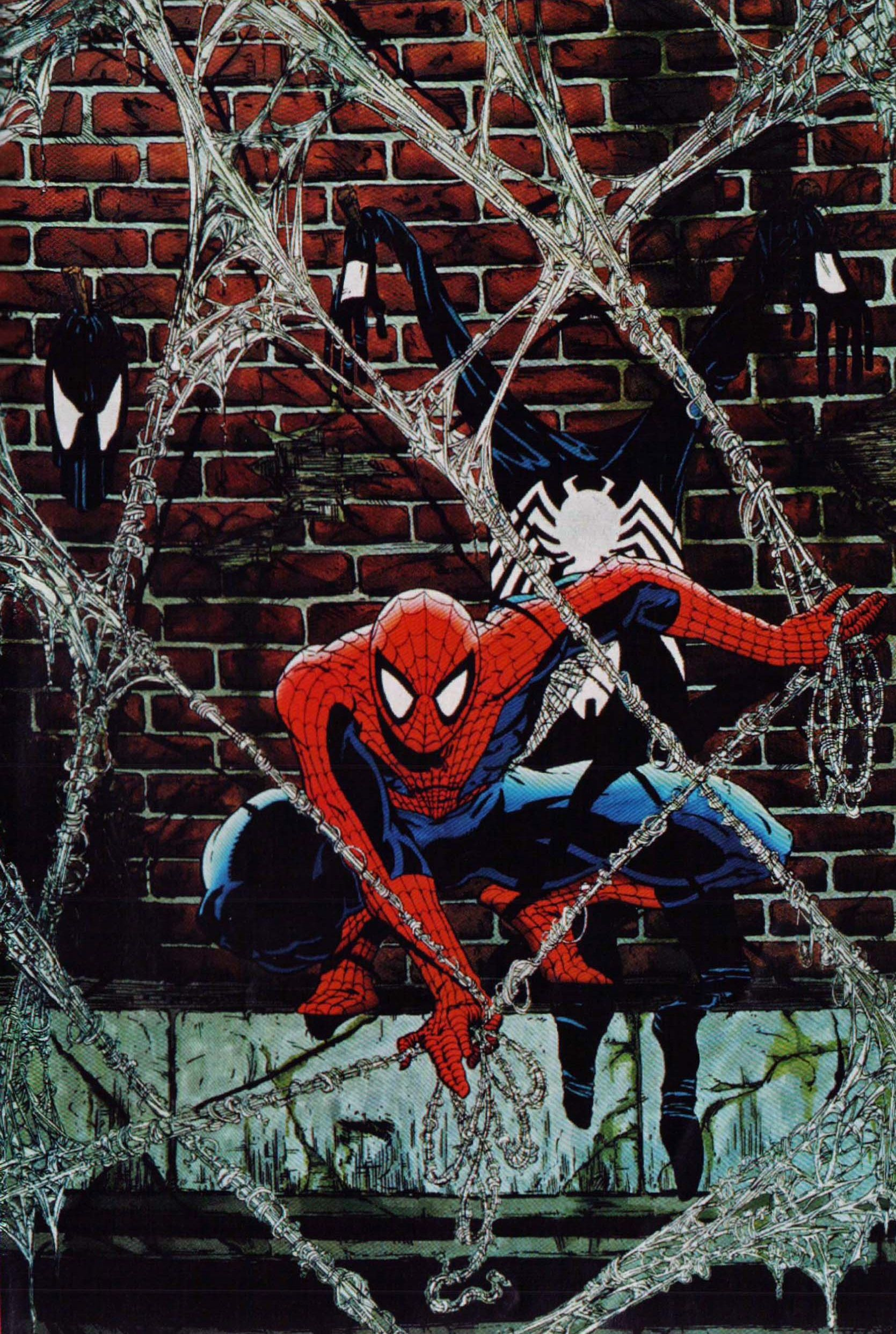 Spiderman Todd Mcfarlane Amazing Spider-man Marvel Comics