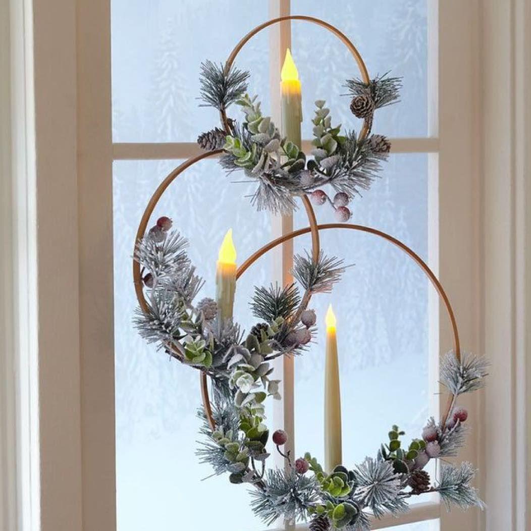 Christmas window decor   exclusive christmas window decoration ideas  decorating