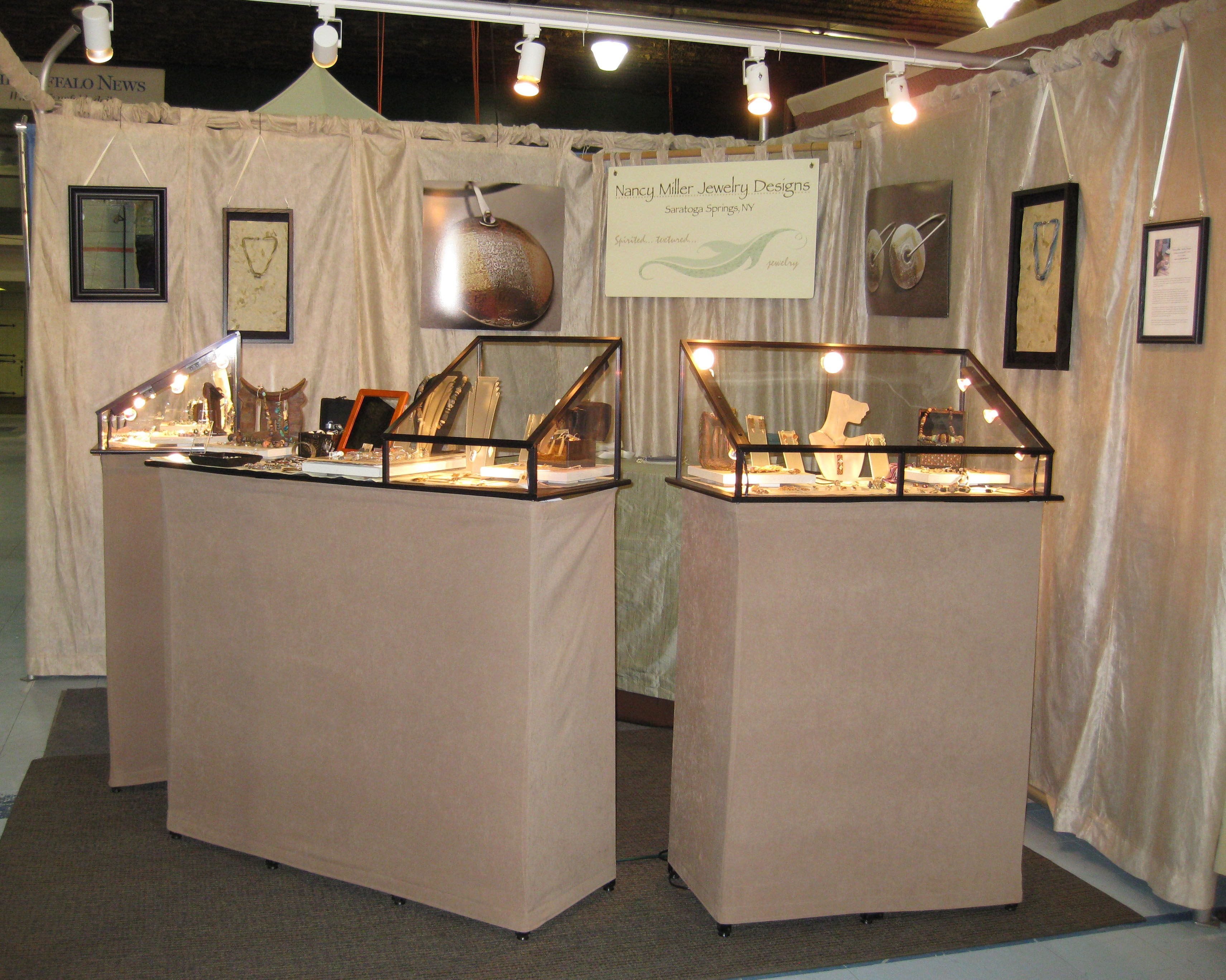 Pin Vickie Napoli Great Booths Jewelry Booth