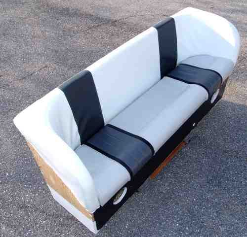 Houseboat Furniture And Accessories: Homebuilt Boat Bench