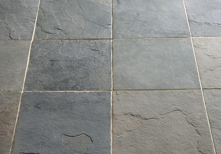 Slate Stone Flooring Grey