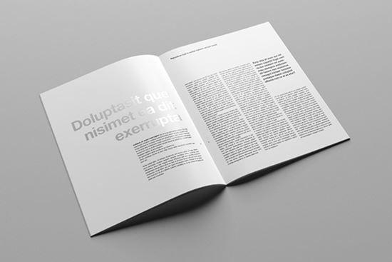 brochure mock up template - brochure mock ups 4 templates pinterest brochures