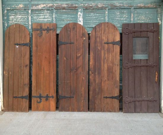 Antique Doors Hinged Or Used As Fence Panels Would Make