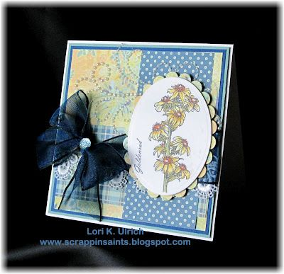 Card Making - Stamps - Stately Flowers 2 by Gina K Designs