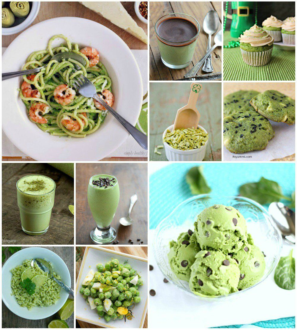 Naturally Green Recipes For St. Patrick's Day