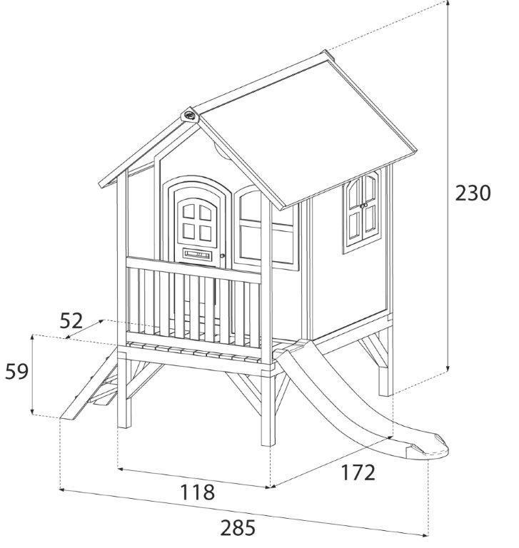Casita de madera momo casas de madera para ni os - Casas de madera para ninos ...