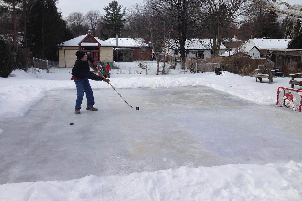 30 Second Mom   Ashlee Benest: 10 Steps To Building A Backyard Ice Skating  Rink On A Budget