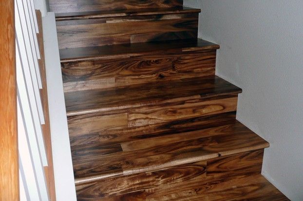 Exceptional Acacia Wood Flooring On Stair Treads; DARK WALNUT STAIN Acacia Wood  Flooring, Dark Walnut