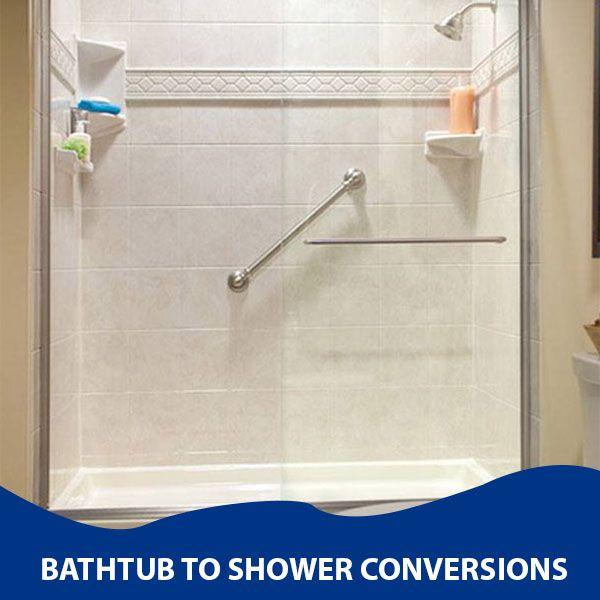 Bathroom Renovations - Bathtub to Shower Conversions ...