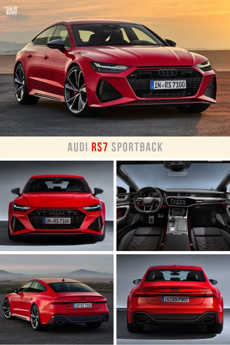 New 2020 Audi Rs7 Sportback In Red Audi Rs7 Sportback Sports Car New Sports Cars