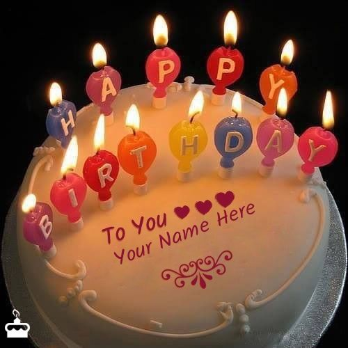 Happy Birthday Cake With Name Free Download And Photo Editor Online
