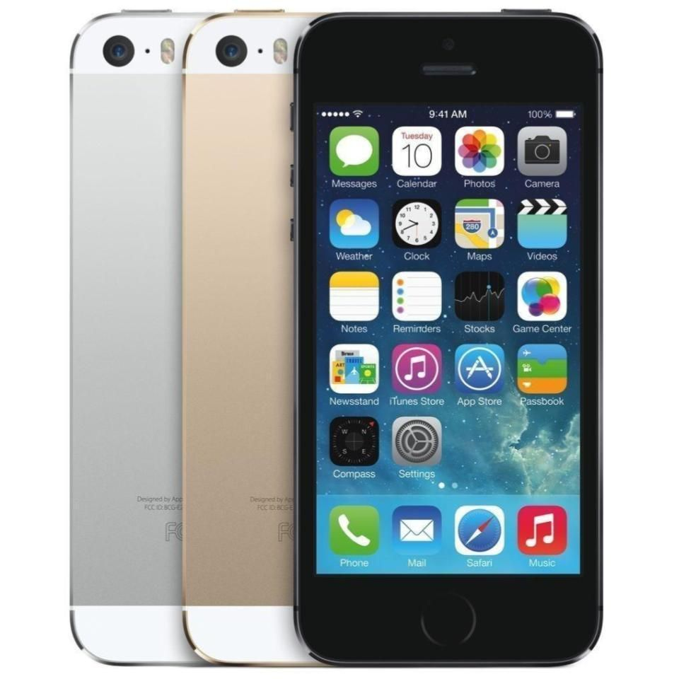 "Apple iPhone 5S 16GB 32GB 64GB ""Factory Unlocked GSM"" 4G"