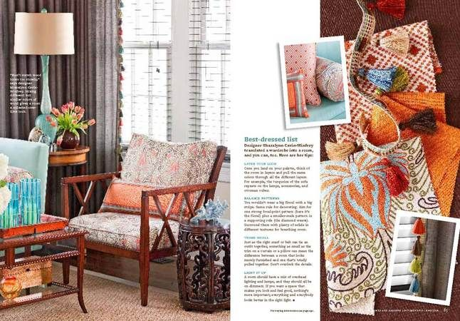 Better homes and gardens october 2010 washington dc - Better homes and gardens interior designer ...