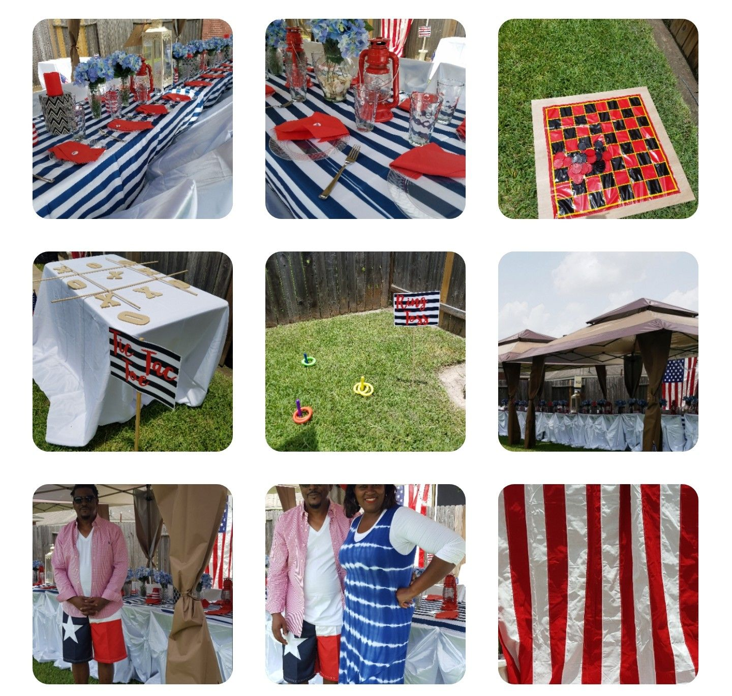 July 4th Event Design Decor profullserve.com