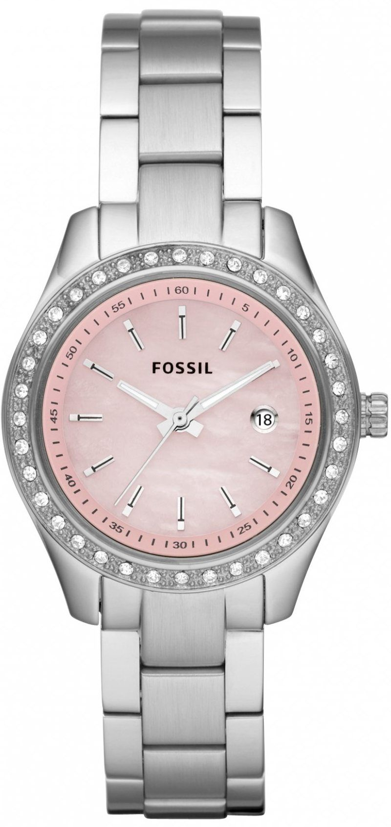 Capri Jewelers Arizona ~ www.caprijewelersaz.com Fossil Watch Women s  ES2999 Stella Pink Dial Watch 6ab6a62bda