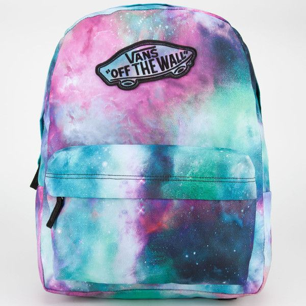 Vans Realm Backpack ($ 38 ) Liked On Polyvore Featuring Bags