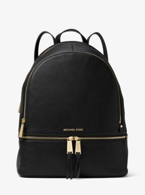 MICHAEL Michael Kors Rhea Large Leather Backpack | Leather