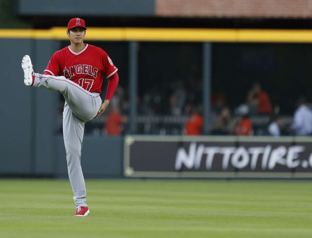 Angels Shohei Ohtani Gives Astros A Glance At His Gleaming Potential 画像あり 大谷翔平 野球 翔