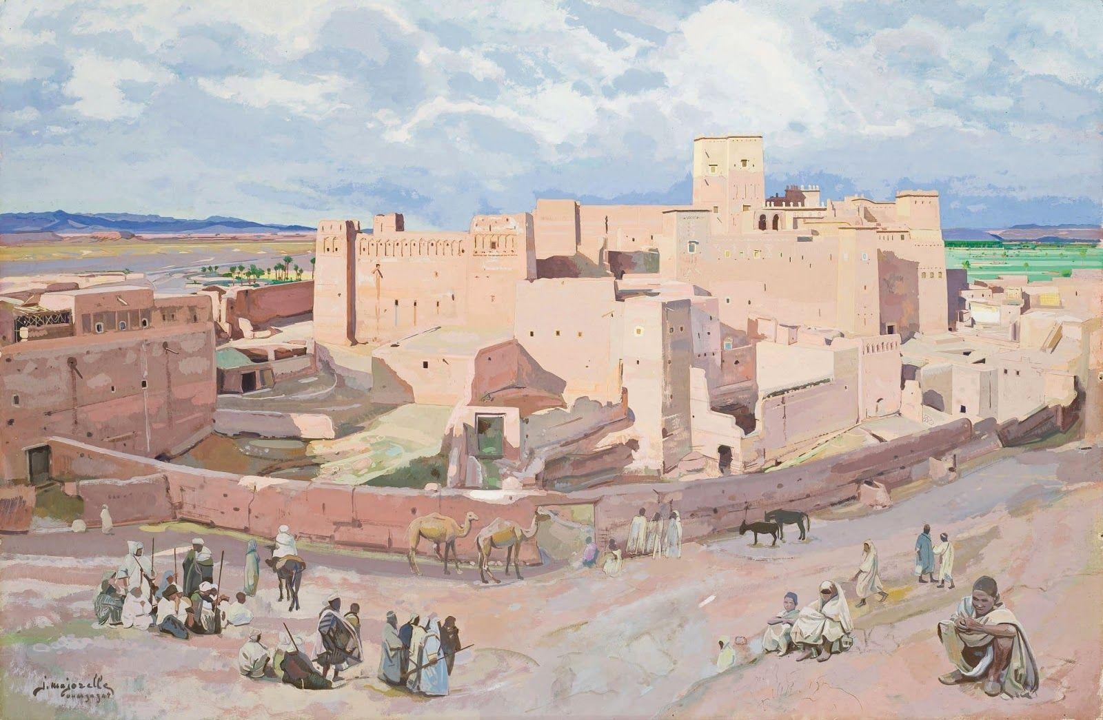 Jacques Majorelle - Ouarzazate