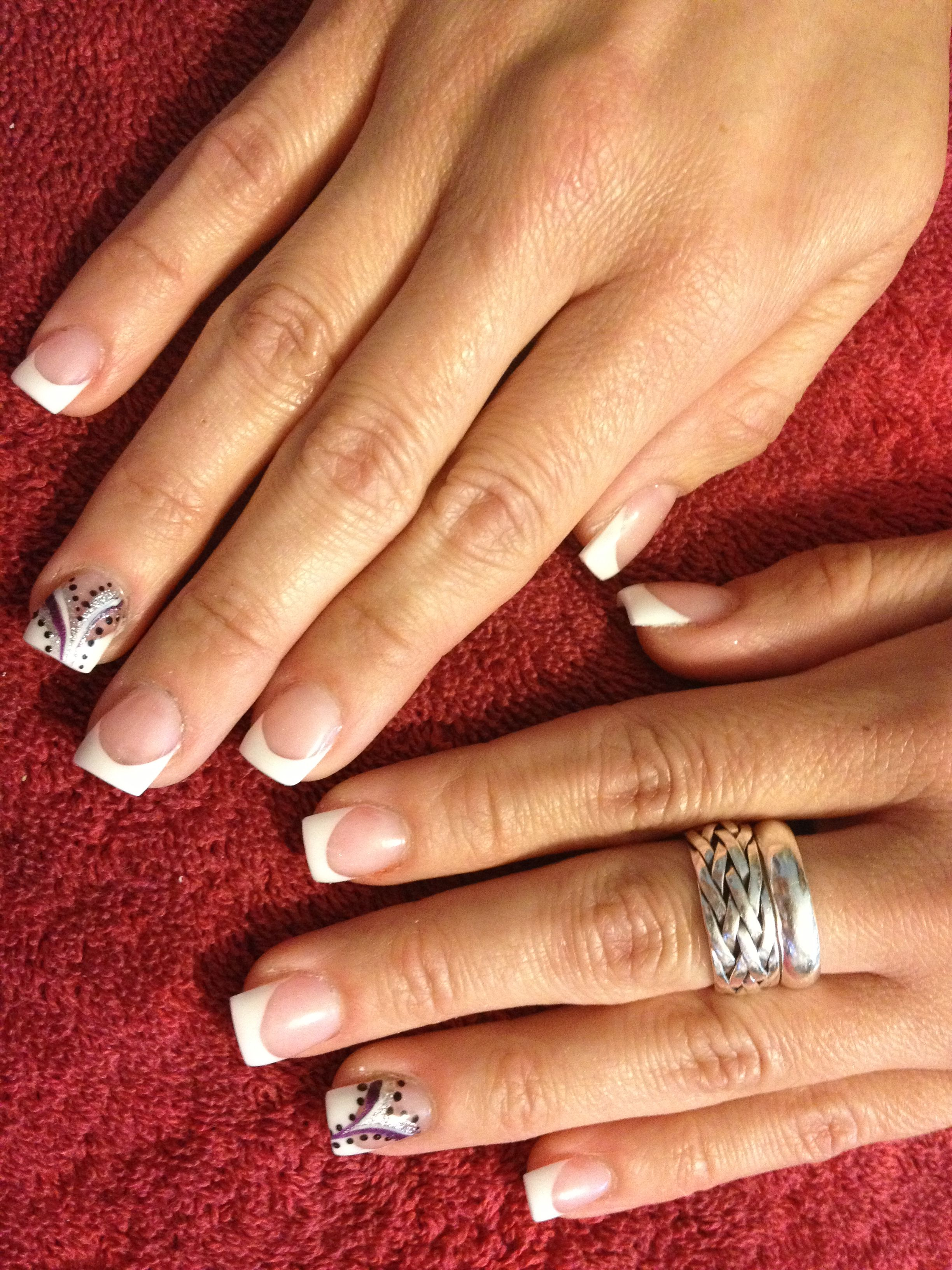Pink and white acrylic nails saras nail designs pinterest pink and white acrylic nails prinsesfo Image collections