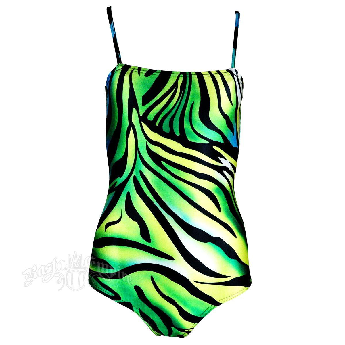 3435d899b6 Jamaican Inspired Colored Zebra Print One Piece Swimsuit | Fashion ...