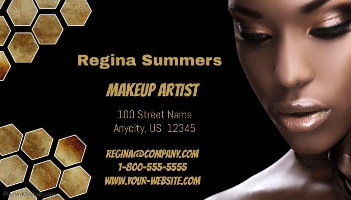 Makeup Artist Business Card Makeup Artist Business Cards Makeup Artist Makeup