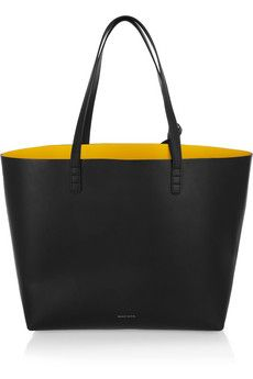 1d184561ed2f Mansur Gavriel Large leather tote with red inside