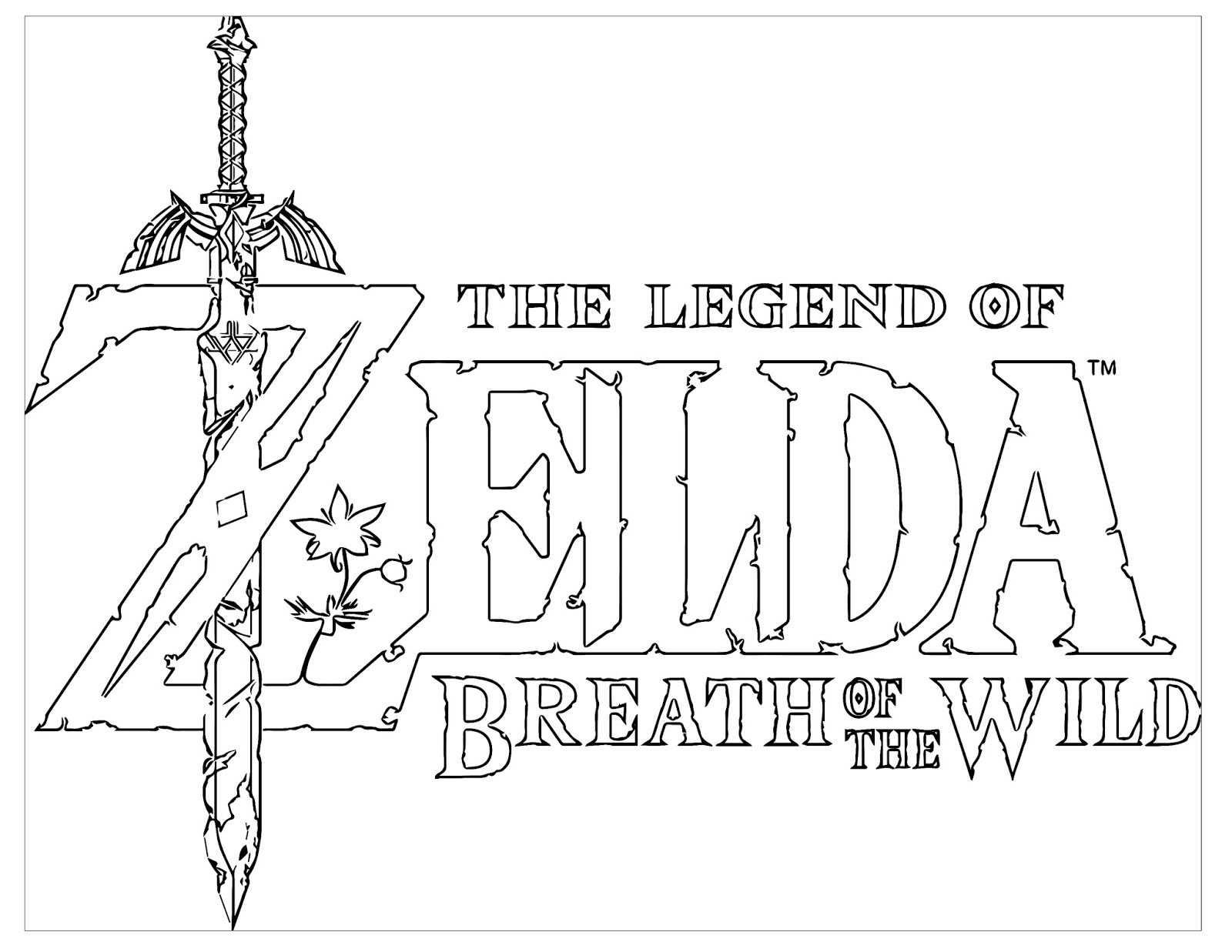 breath of the wild coloring pages Pin by Theresa on Zelda | Zelda, Legend of zelda, Breath of the wild breath of the wild coloring pages