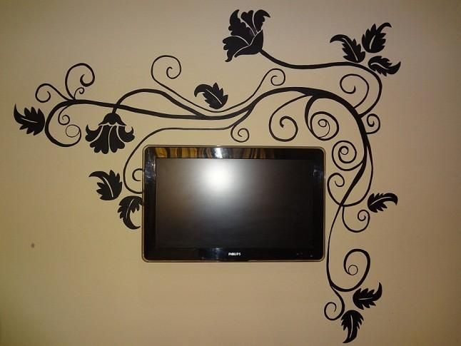 Wall painting touchtalent for everything creative wallflower silhouettes pinterest - Design painting of wall ...