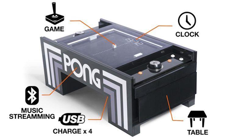 Atari Pong Coffee Table Coffee Table Table Cool Coffee Tables