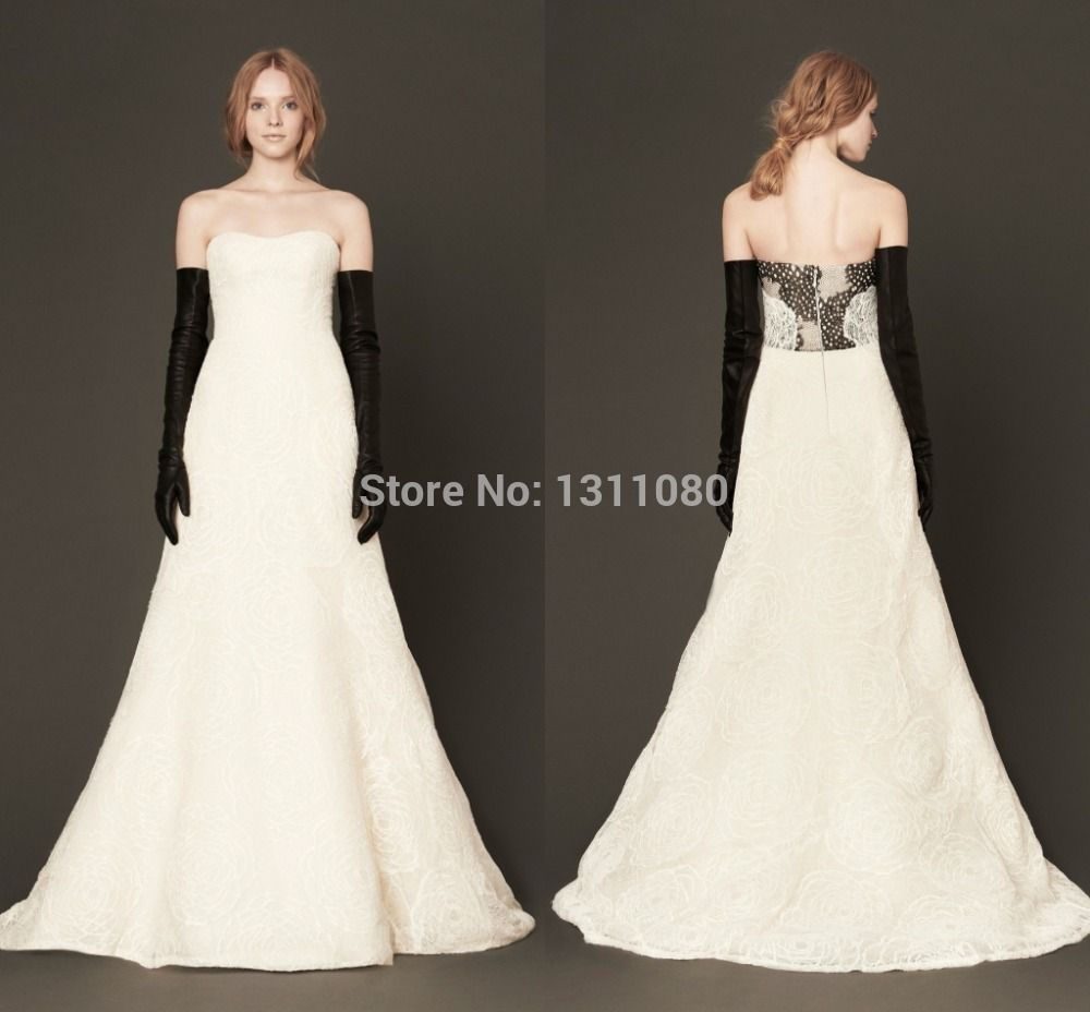 Time limited trumpet floor length appliques strapless backless