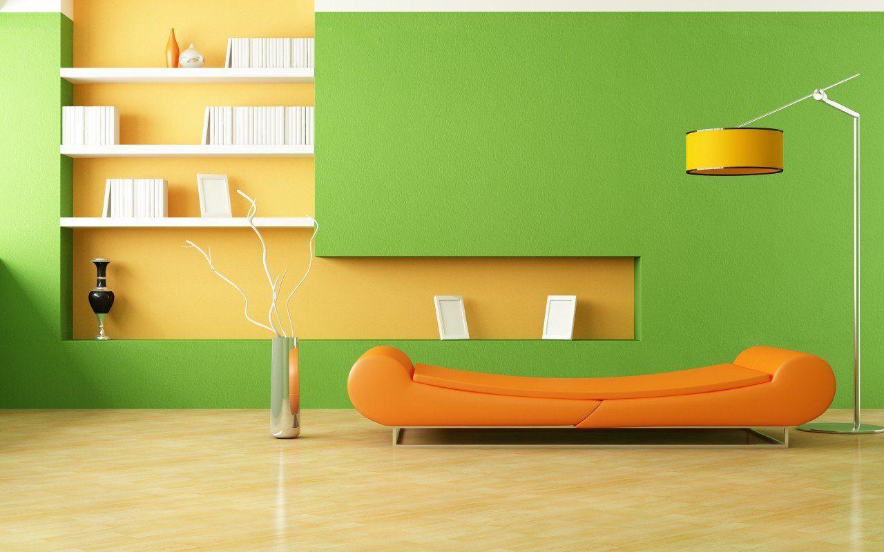Id Es De Salon Color Salon Color Id Es De Salon Et Vert Jaune # Salon Meuble En Vert
