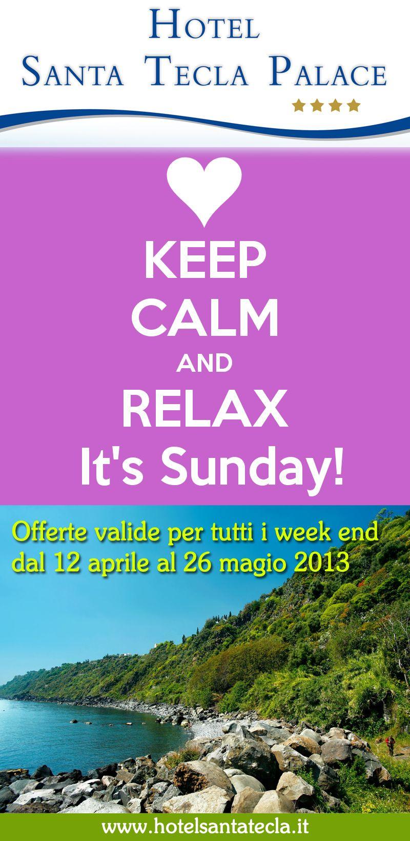 #Offerta imperdibile per i #weekend di #Aprile e #Maggio.  Per info visita il nostro #sito www.hotelsantatecla.it  #spring #hotel #santatecla #sicily #italy