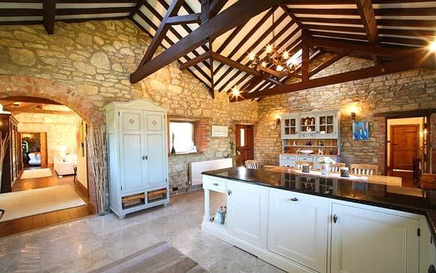 Barn Kitchens | Property Market: The Perfect Place For A Christmas Tree    Telegraph Part 47