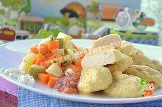 Куриные кнели с овощами на обед | Рецепт | Еда, Детское ...