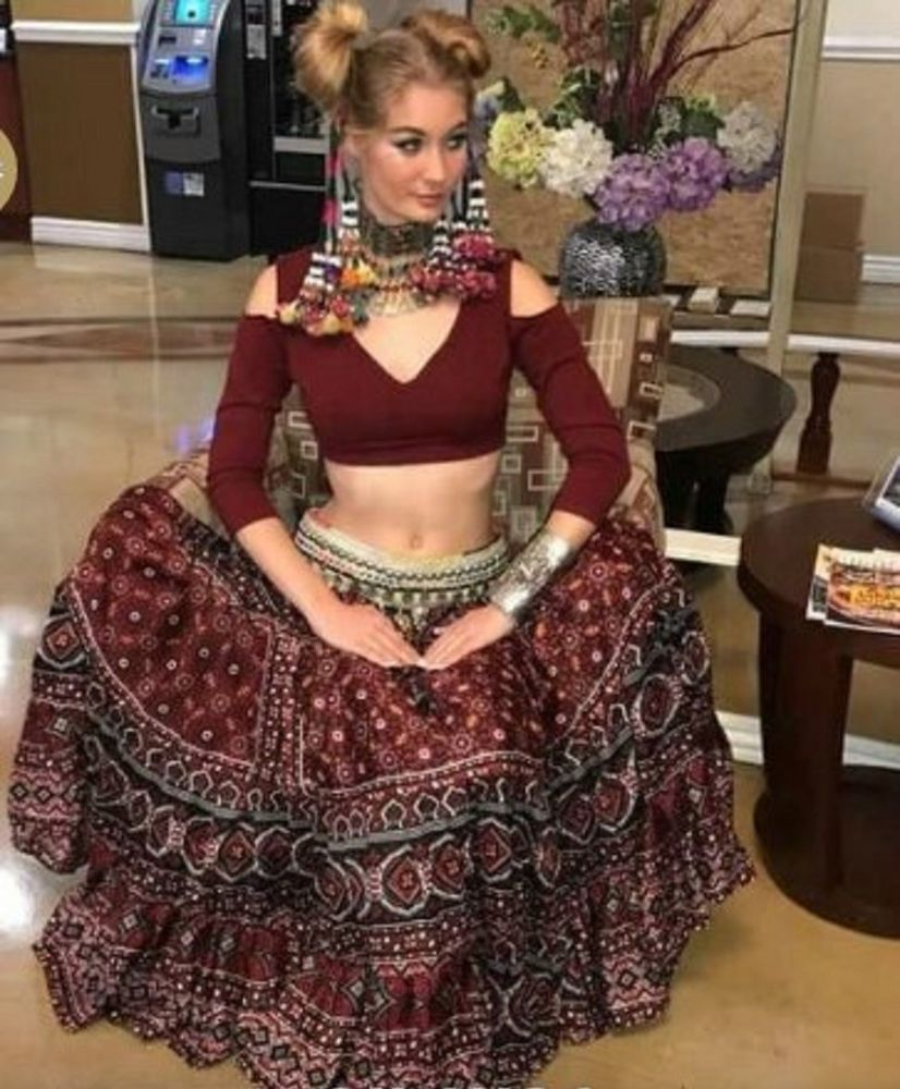 80ab7078eb4 tops choli sari saree boho freepeople style gypsy tribal fusion bellydance  ats