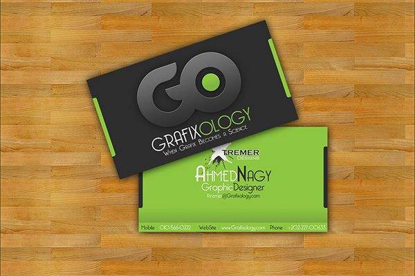 Grafixology Official Corporate Business Card Business Cards Creative Business Card Design Creative Graphic Design Business Card