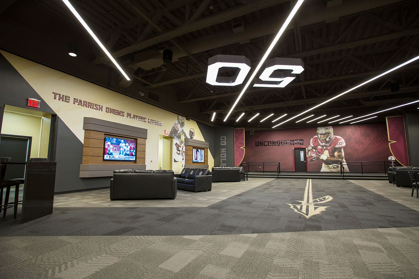 Florida State Football Players Lounge Florida State Football