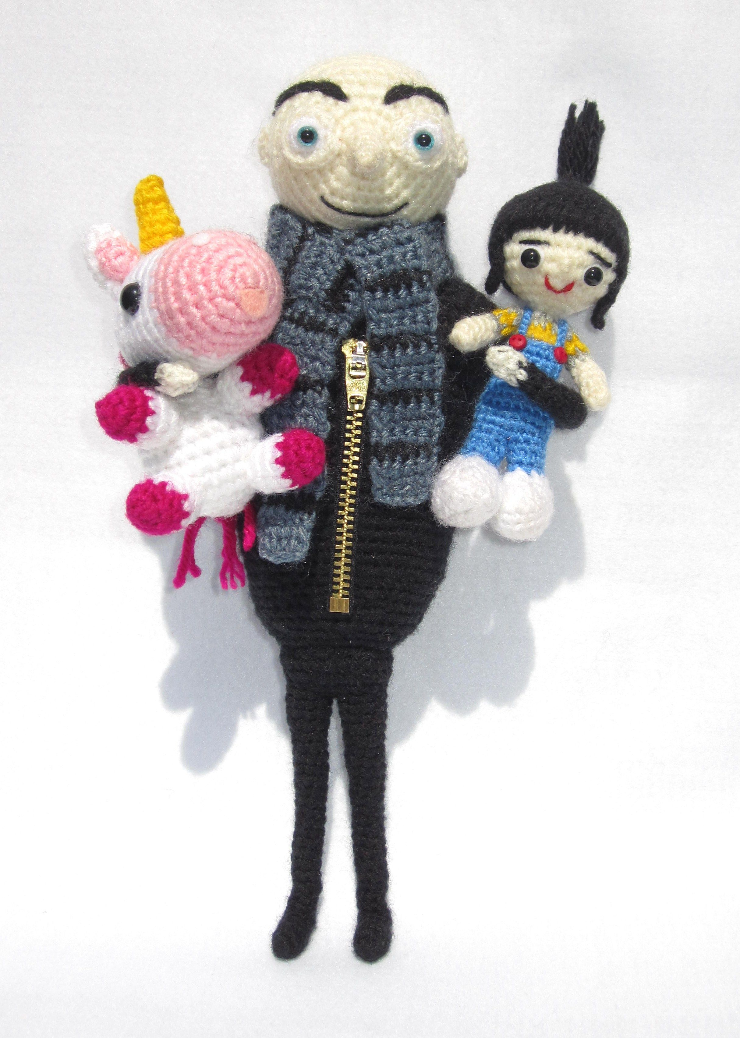 Despicable Me amigurumis | Amigurumis cuties Inspiration | Pinterest ...