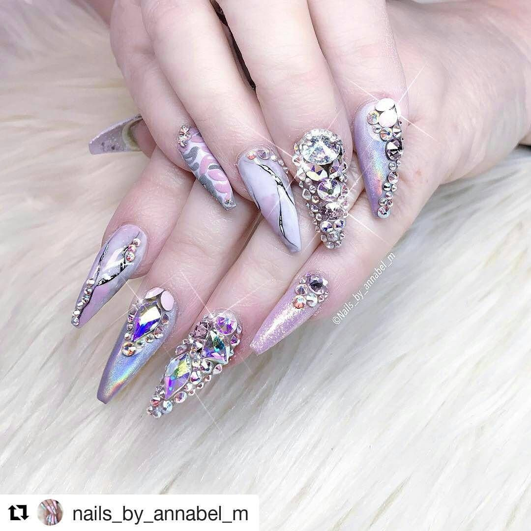 Pin By Danielle Leacock On Nail Love In 2018 Pinterest Nails