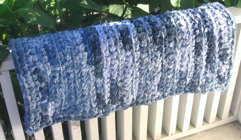 Hand Crocheted Rag Rugs Carol S Rugs And Rug Making Supplies Crochet Rug Patterns Crochet Rug