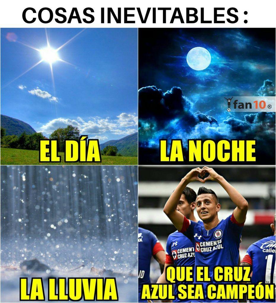 Los mejores memes de Cruz Azul, líder de Liga MX en 2020
