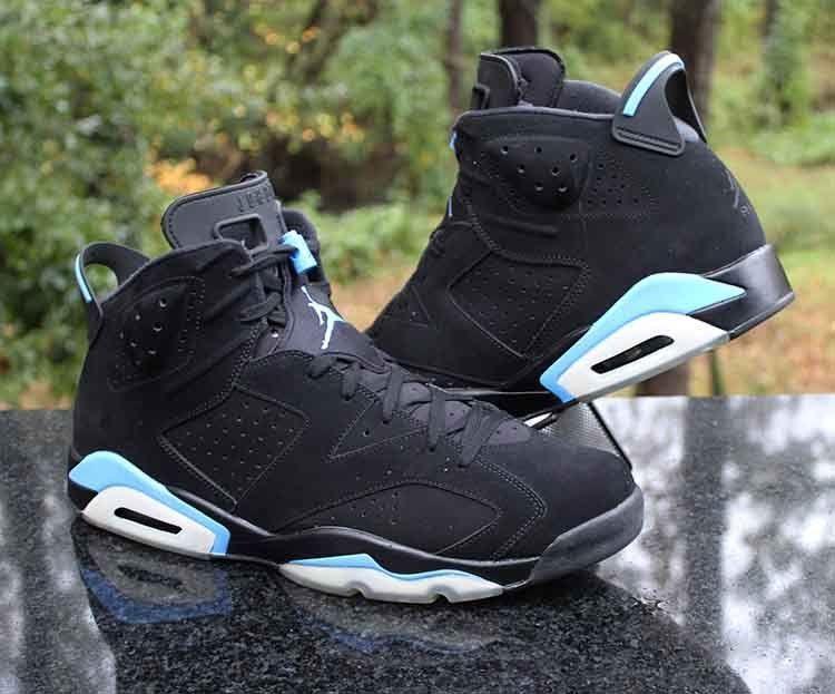 676bd125e4e Air Jordan 6 Retro UNC Black University Blue 384664-006 Men's Size 16 # Jordan #BasketballShoes